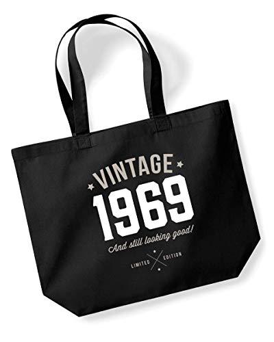 50th Birthday Vintage 1969 Tote Bag Keepsake