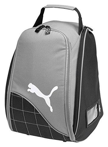Puma - mochila Portacasco, Negro/Gris