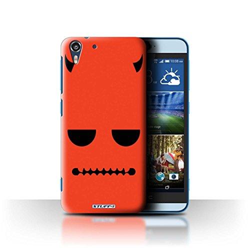 (Stuff4 Hülle / Hülle für HTC Desire Eye LTE / Teufel Muster / Halloween Zeichen Kollektion)