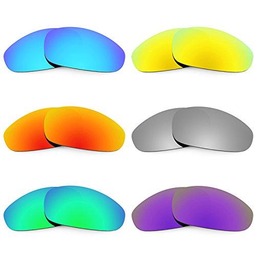 Revant Ersatzlinsen für Oakley Juliet Polarisiert 6 Paar Kombipack K027