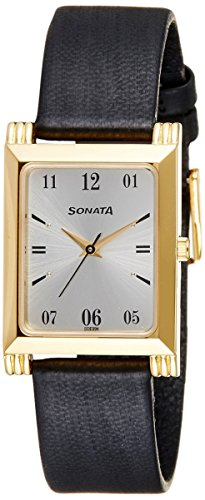 41POvIXuUhL - Sonata 77036YL01J Off Mens watch