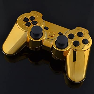 Playstation 3 Controller - Chrome Gold with Black Buttons