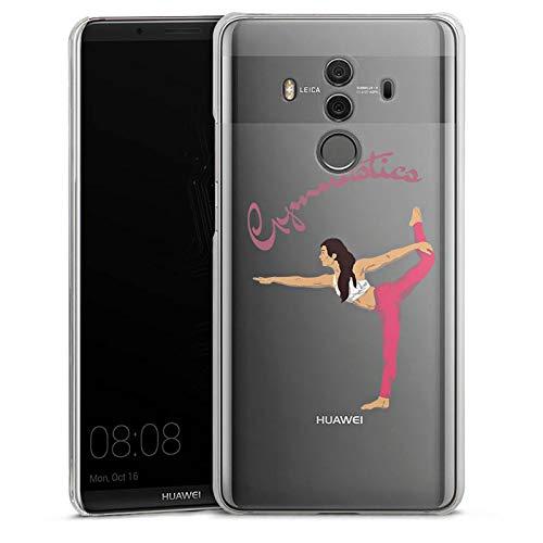 DeinDesign Huawei Mate 10 Pro Hülle Case Handyhülle Gymnastic ohne Hintergrund Hobby