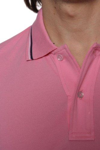 Williams Wilson Herren Shirt Poloshirt Oxnard Rosa1