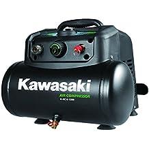 220V Luftkompressor Werkstatt Ansaugleistung 165 l//min Induktionsmotor 1100W Kawasaki Kompressor 24L Tank 8 Bar fahrbar