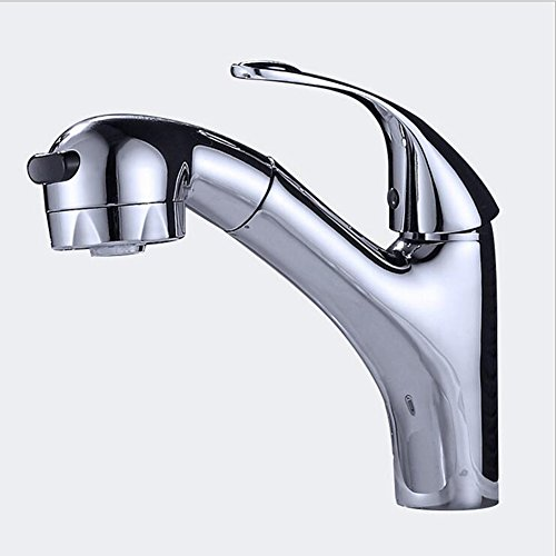 Preisvergleich Produktbild Exing Ausziehbecken Heißer und Kalter Wasserhahn Shampoo Messing Bad Versenkbare Waschbecken Becken Wasserhahn (200 * 200 * 45mm) Wasserhähne