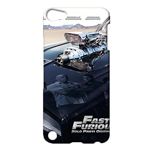 ipod-touch-5th-generation-back-case-cover-durable-popular-cartoon-design-shell-fast-and-furious-symb