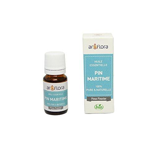 Arôflora Huile Essentielle de Pin Maritime 100% Pure/Naturelle 10 ml