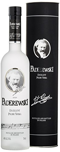 Paderewski Premium Wodka in Tube (1 x 0.7 l)