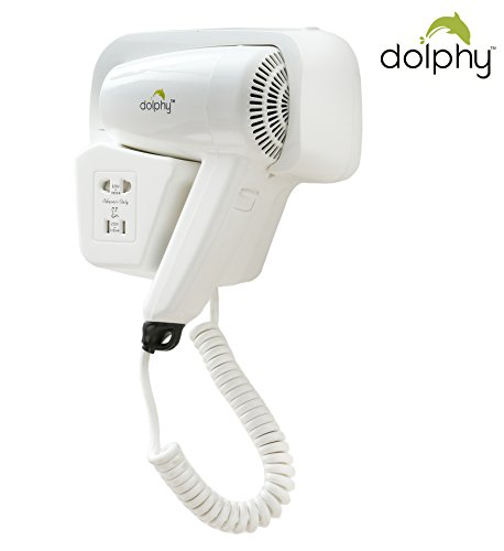 Dolphy Professional Wall Mounted Hair Dryer Hd-001