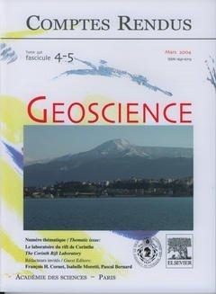 Comptes Rendus Académie des Sciences, Geoscience, Tome 336, Fasc 4-5, Mars 2004 : le Laboratoire du