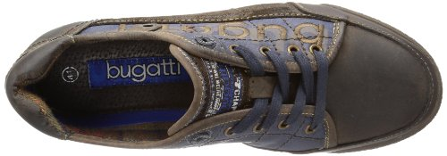 Bugatti - F39081, Scarpe da ginnastica Uomo Marrone (Braun (d´braun/blau 616))