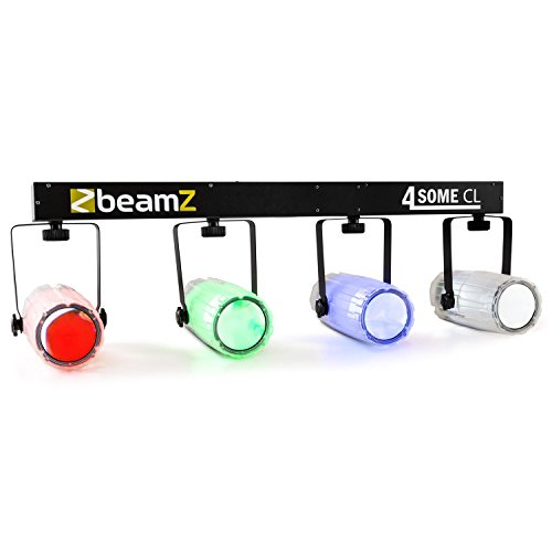 BeamZ 4-Some Clear Licht-Set RGBW-LED DMX Mikrofon