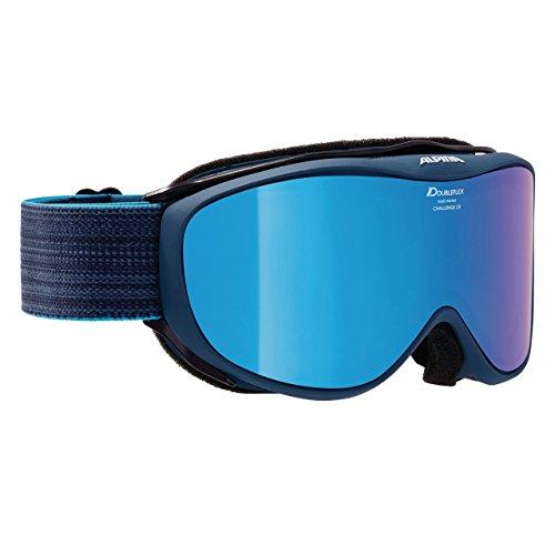 Alpina Challenge 2.0 Skibrille, Navy, One Size