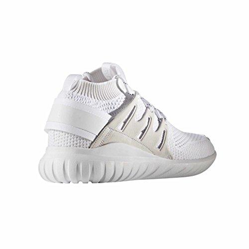 Adidas Men's Tubular Nova Pk Primeknit Running Shoe Sneakers White
