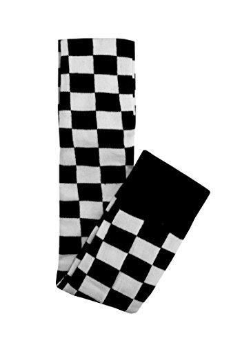 k overknee socks) kariert Kniestrümpfe (Outfits Mit Overknee Socken)