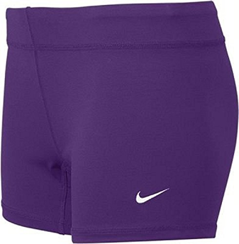 Nike Volleyball Spandex (Nike Performance Women's Volleyball Game Shorts (XX-Large, Purple))