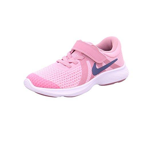 Nike kleinkinder laufschuh revolution 4 (ps), scarpe running bambina, rosa (pink/diffused blue-elemental p 602), 35 eu