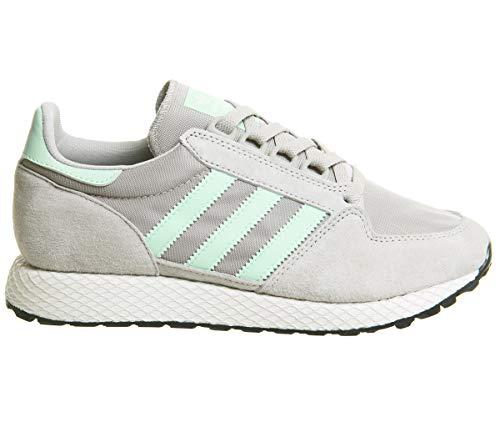 Adidas Forest Grove W, Zapatillas de Deporte para Mujer, (Sésamo/Blanub/Negbás 000), 38 EU