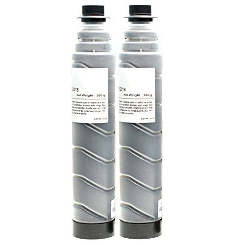 Preisvergleich Produktbild 2 Toner für Ricoh Type 1230D Aficio 2015 2016 2018 D 2020 D MP1500 1600 L 2 SPF 1900 2000 LN 2 SPF - 885094 - Schwarz je 9000 Seiten