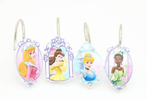 Disney Princess Vorhang für die Dusche Haken Kinder Mädchen