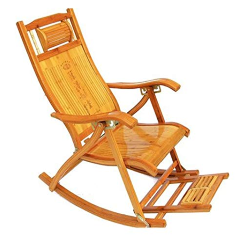 Fauteuils inclinables Chaise À Bascule Chaise Pliante Inclinable Chaise De Pause Déjeuner De Jardin En Plein Air Chaise À Bascule Fraîche En Été Chaise De Canapé Siesta Chaise Poids 150kg