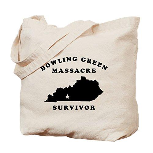 CafePress Umhängetasche für Bowling-Massaker, Grün, canvas, khaki, M