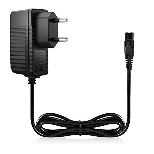 Aukru 15V Caricabatterie Alimentatore per Rasoio Elettrico Philips 9195XL, 9190XL, 9170XL, 9170XLCC,...