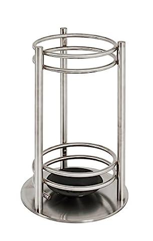 HAKU Furniture Umbrella Stand, stainless steel, Silver, 49 x 30 x 49 cm