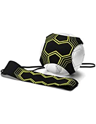Ulable Football Kick Trainer, Soccer Solo Skill Practice Training Aid, Training Aid Football Skills Improvement for Kids & Adults