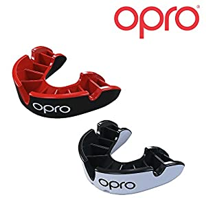 Opro Silber Level Mundschutz | Gum Shield für Rugby, Hockey und andere Kontaktsportarten