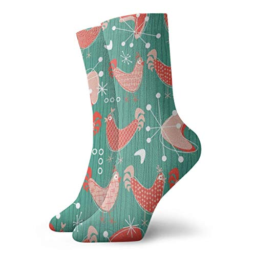 MZZhuBao Classics Compression Socks,Bawk Bawk To The