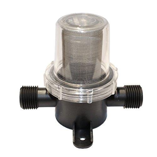Filtro fino de agua para manguera de 13 mm - Bomba de agua - Depósito de agua - Bomba de agua a presión