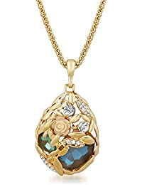 Vk Jewels Wedding Collection Gold Brass Alloy Necklace Set For Women Vknks1490G