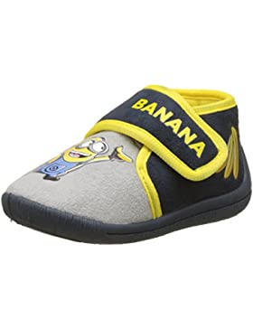 Despicable Me Jungen Boys Kids Velcro Low Houseshoes Hohe Schuhe
