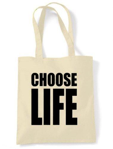 Choose Life Tote / Shoulder bag - Many Colours