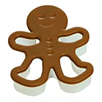 silikomart Cookie Cutter Gingerbread Man, Brown