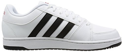adidas Hoops Vs, Chaussures pour Le Basketball Homme, Nero/Grigio/Blu Multicolore (Ftwwht/Cblack/Powred)