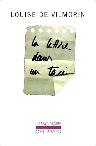 La Lettre dans un taxi