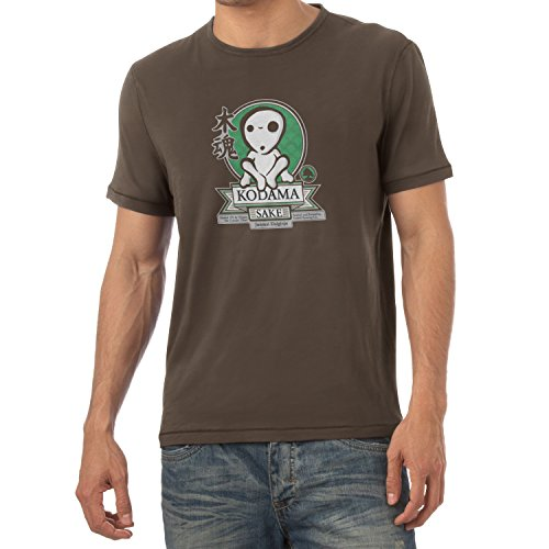 TEXLAB - Kodama Sake - Herren T-Shirt Braun