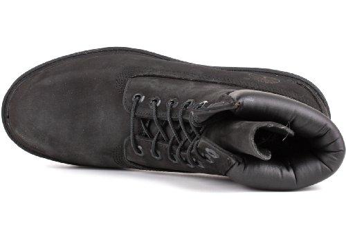 Timberland Mens 6-Inch Basic Waterproof Leather Boots Schwarz - Schwarz 5E0YSA