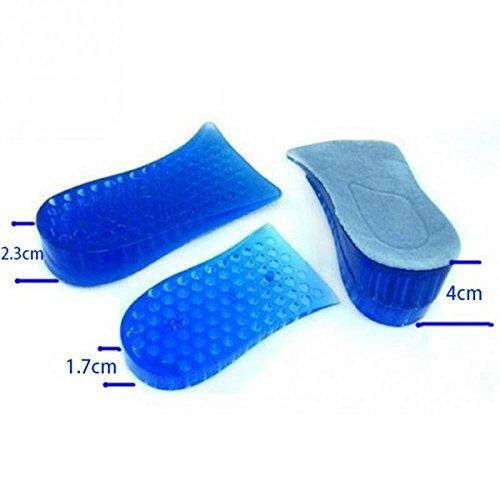 Aeoss 1 Pair High Quality Men Women Orthopedic Height Increase Insoles Massaging