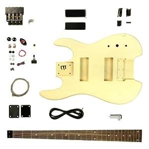 bass guitar gk shb 20 headless 4 string diy kit project musical instruments. Black Bedroom Furniture Sets. Home Design Ideas