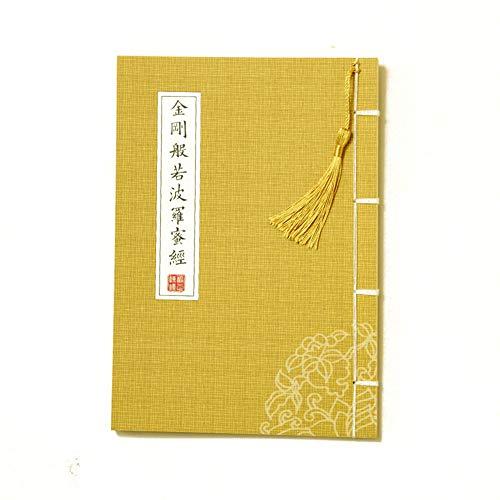QJiang Kleine Regelmäßige Skript Handschrift Copybook Fotokopie Klassisches Modell Kalligraphie Buch Diamant Sutra Herz Sutra (Chinesische Ausgabe)