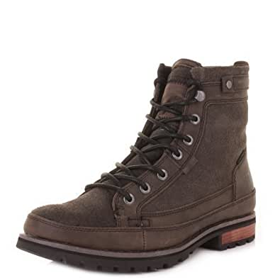 Caterpillar Cat Bryant Muddy Pepper Ankle Boots SIZE 8