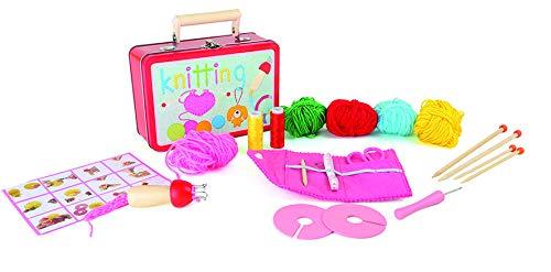 Legler - 3923 - Valise d'enfant - Set de tricot