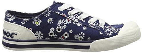 Rocket Dog  Jazzin, Sneakers Basses femme Bleu (Lily Navy)