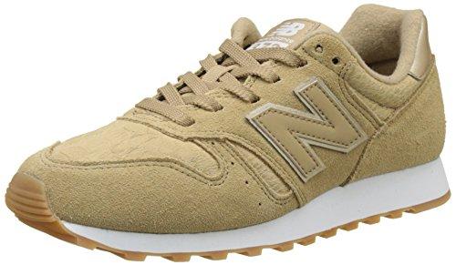 New Balance Damen 373 Sneaker, Elfenbein (Beige), 36.5 EU - Schuhe New Balance Womens Lässig