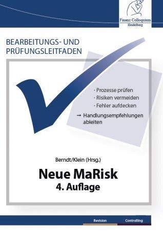 Bearbeitungs- und Prüfungsleitfaden: Neue MaRisk, 4. Auflage