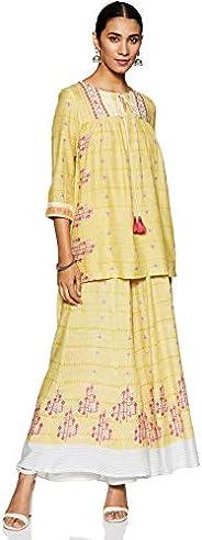 W For Woman Women's Anarkali Salwar Suit